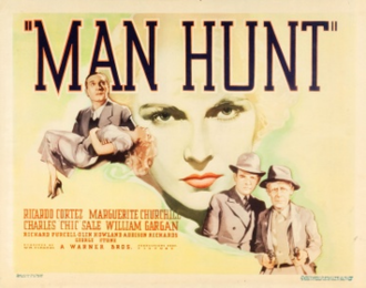 Man Hunt (1936 film) - Theatrical release poster