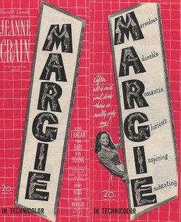 <i>Margie</i> (film) 1946 Henry King film directed by Henry King