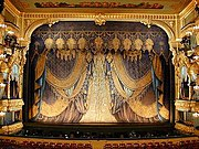 The stage of the Mariinsky Theatre was a filming location for The Nutcracker, Swan Lake and other movies