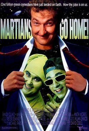 Martians Go Home (film) - Theatrical release poster