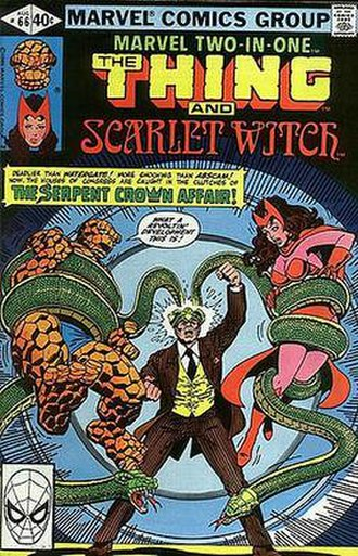 Serpent Crown - Image: Marvel Two in One 66