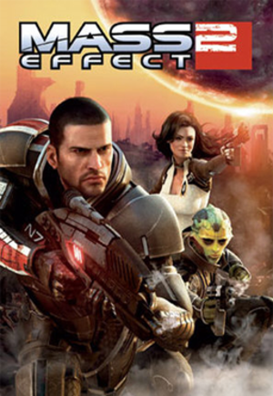 Mass Effect 2 - Image: Mass Effect 2 cover