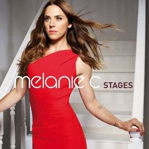 """Stages (Melanie C album) - Image: Melanie C """"Stages"""" Album Cover"""