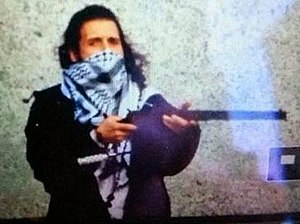 2014 shootings at Parliament Hill, Ottawa - Zehaf-Bibeau at the National War Memorial on October 22, 2014