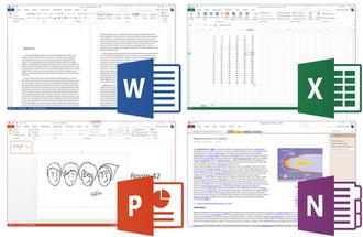Microsoft Office 2013 - Image: Microsoft Office 2013 Screenshots