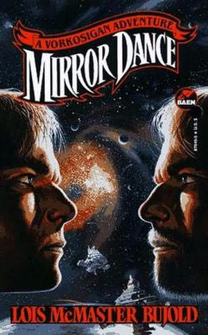 Mirror Dance - Cover from Baen first edition March 1994