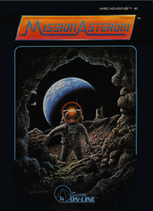 Mission Asteroid - Cover art