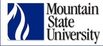 Mountain State University - Image: Mtnstunivlogo