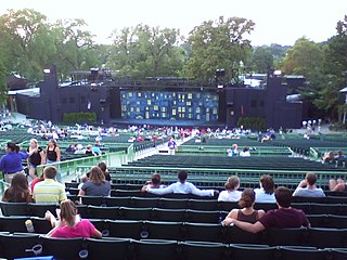 The Muny open-air theater in St. Louis, Missouri