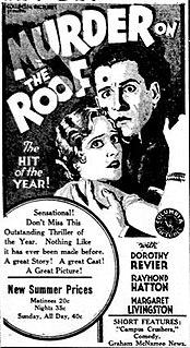 <i>Murder on the Roof</i> 1930 film