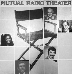 Sears Radio Theater - Clockwise from top: Lorne Greene, Vincent Price, Leonard Nimoy, Andy Griffith, Cicely Tyson.