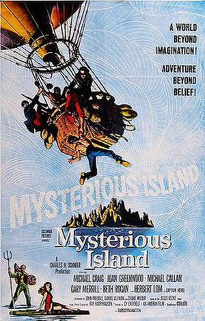 Mysterious Island (1961 film) - Theatrical release poster