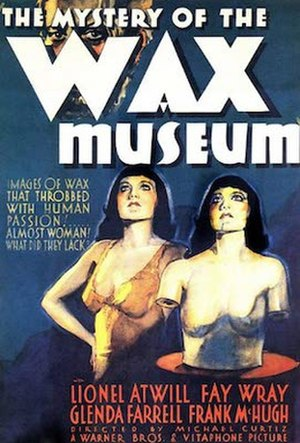 Mystery of the Wax Museum - theatrical release poster