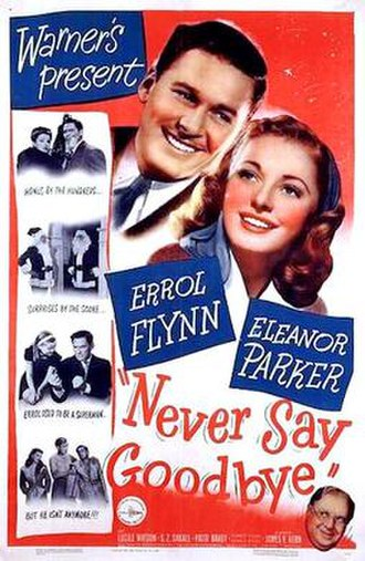 Never Say Goodbye (1946 film) - Theatrical release poster