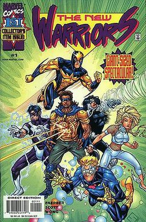 New Warriors - Image: New Warriors 1 (1999)