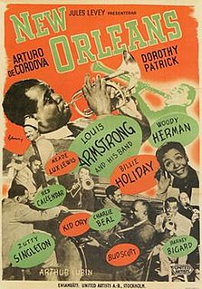 <i>New Orleans</i> (1947 film) 1947 musical drama film directed by Arthur Lubin