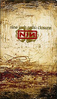 <i>Closure</i> (video) double VHS set by Nine Inch Nails