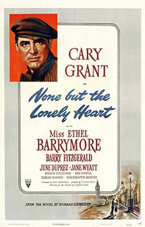 None but the Lonely Heart (film) - Theatrical release poster