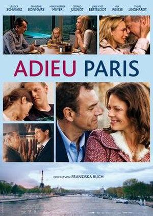 Adieu Paris - Promotional poster