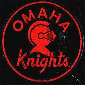 Omaha Knights - Image: Omaha Knights Logo 1962 1963