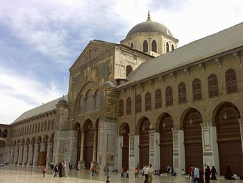 Ommayyad Mosque in Syria.
