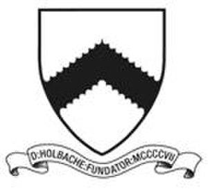 Oswestry School - Image: Oswestry School Crest