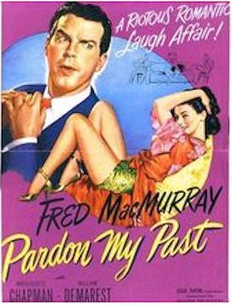 Pardon My Past - 1945 Theatrical Poster