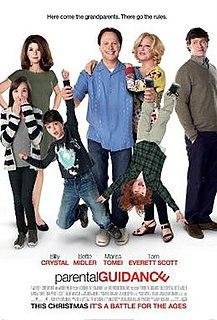 <i>Parental Guidance</i> (film) 2012 film by Andy Fickman