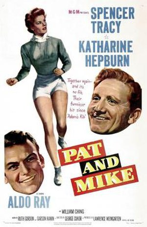 Pat and Mike - Theatrical-release poster