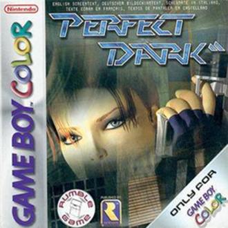 Perfect Dark (Game Boy Color) - European box art