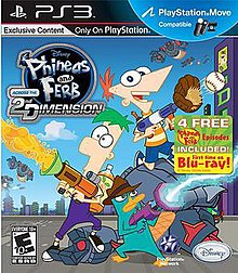 Phineas and Ferb: Across the 2nd Dimension (video game) - Wikipedia