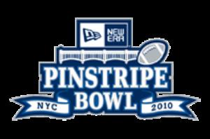 2010 Pinstripe Bowl - Image: Pinstripe logo