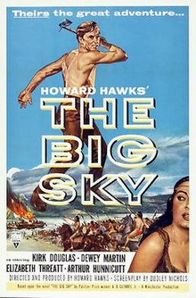 Poster of The Big Sky (film).jpg