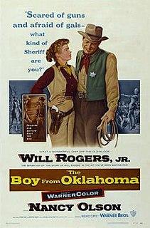 <i>The Boy from Oklahoma</i> 1954 film by Michael Curtiz