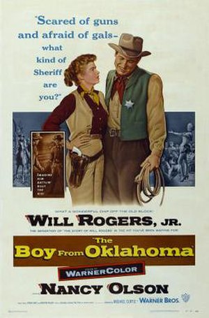 The Boy from Oklahoma - Image: Poster of the movie The Boy from Oklahoma