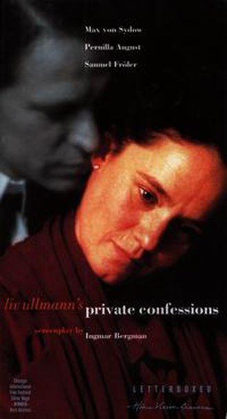 Private Confessions - Film poster