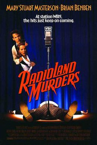 Radioland Murders - Theatrical release poster