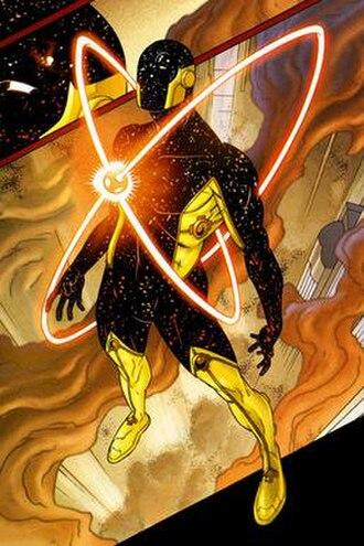Reactron - Image: Reactron, the DC Comics supervillain