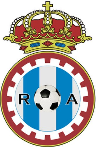Real Avilés CF - Image: Real Avilés Industrial logo