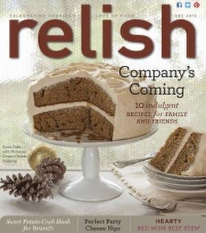Relish (magazine) - Image: Relish Cover December