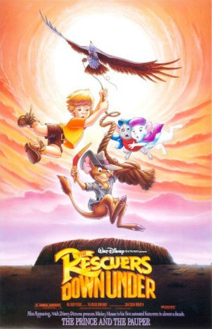The Rescuers Down Under - Theatrical release poster