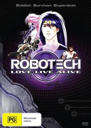 Robotech: Love Live Alive - Image: Robotech LLA DVD