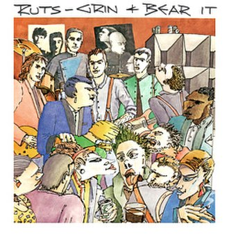 Grin & Bear It - Image: Ruts Grin And Bear It album cover