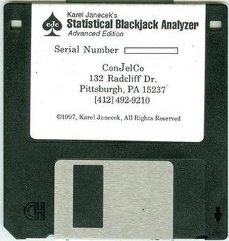 Karel Janeček - SBA floppy disk