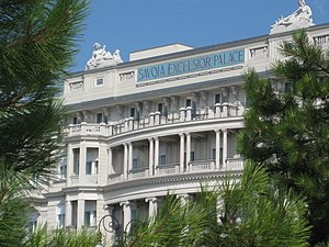 Savoia Excelsior Palace - Savoia Excelsior exterior view