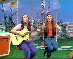 The Magic Garden (TV series) - Paula (Left) and Carole (Right), hosts of The Magic Garden