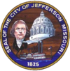 Official seal of Jefferson City, Missouri