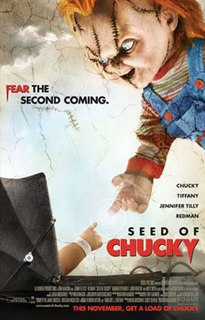<i>Seed of Chucky</i> 2004 American horror comedy film by Don Mancini