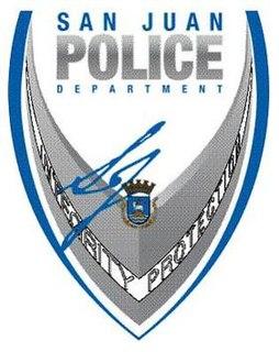 San Juan Police Department Main police force for the city of San Juan, Puerto Rico