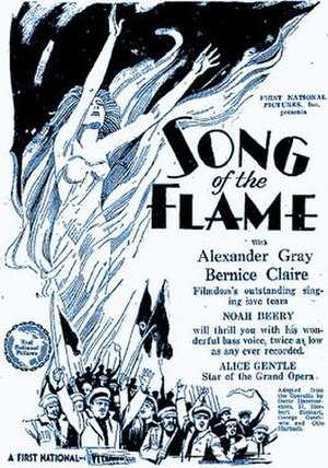 Song of the Flame - Image: Songofthe Flame 1922